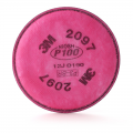 3M 2097 P100 Particulate Filter with Nuisance Level Organic Vapour Relief