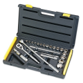 "STANLEY 1/2""DR SOCKET SET 25PC 6P 865891"