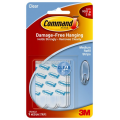 Command 17021CLR Clear Medium Refill Strips