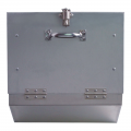 Showy 7521-000 Aluminium Rubbish Box with Lock