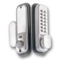 YANK PUSH BUTTON DOOR LOCK NK2100-SC
