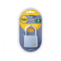 YALE Y120/60/135/1 VP Padlock 3 Keys Satin Chrome