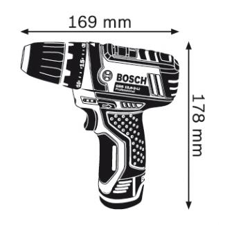 Bosch GSR 10,8-2-LI Professional Cordless Drill/Driver