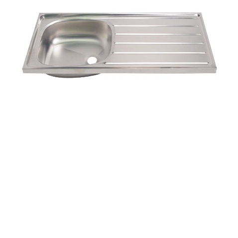 Showy Stainless Steel Sink 42 X18